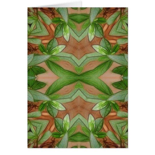 Pink Azaleas 1E kaleidoscope 1 Card