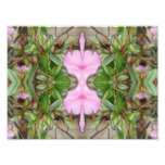 Pink Azaleas 1E kaleidoscope 2 Photograph