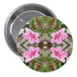Pink Azaleas 1E kaleidoscope 3 Pin