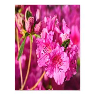 Pink Azaleas Magnetic Card