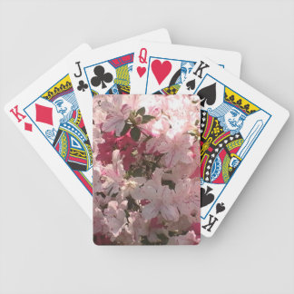 Pink Azaleas Deck Of Cards