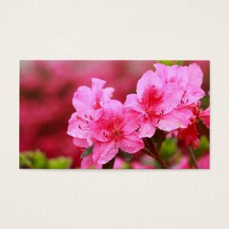 Pink Azaleas - Pocket calendar
