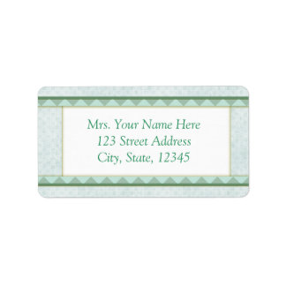 Pink Baby Address Lables Address Label