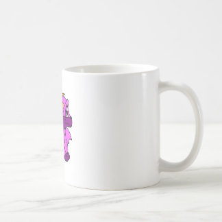Pink Baby Dragon Coffee Mugs