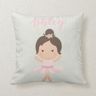 Pink Baby Girl Ballerina Ballet Toe Shoes Dancer Cushion