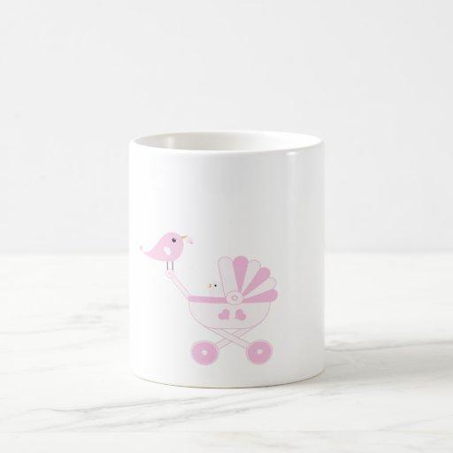 Pink Baby Girl Coffee Mugs