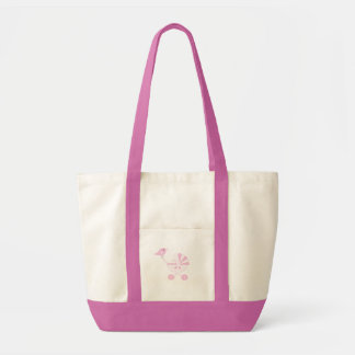 Pink Baby Girl Tote Bags