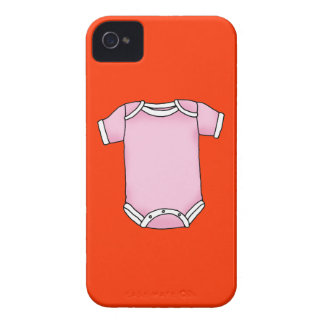 pink baby one piece iPhone 4 covers