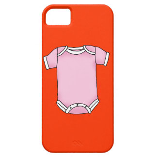 pink baby one piece iPhone 5 case