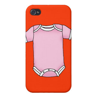 pink baby one piece iPhone 4/4S covers