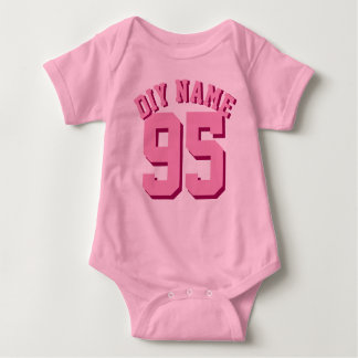 Pink Baby | Sports Jersey Design T-shirts