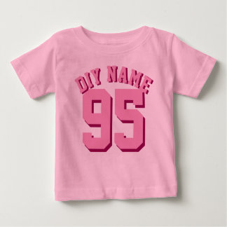 Pink Baby | Sports Jersey Design T Shirts