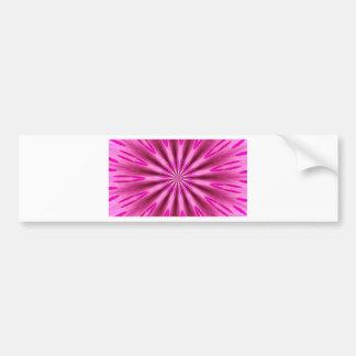 Pink background bumper sticker