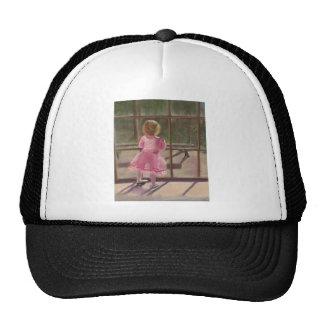pink ballerina cap