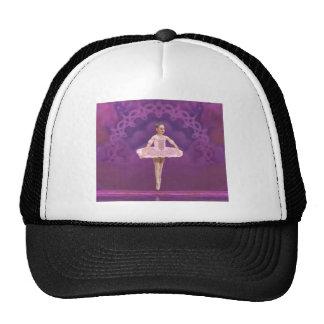 Pink Ballerina Girl Cap