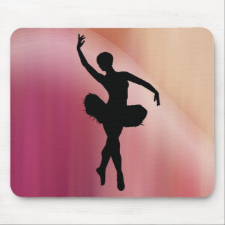 Pink Ballerina Mouse Pad