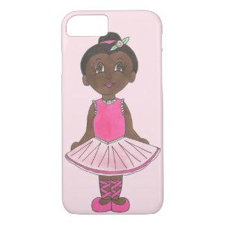 Pink Ballet Dance Costume Tutu Ballerina Dancer iPhone 8/7 Case