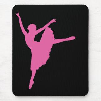 Pink Ballet Dancer Mousepad