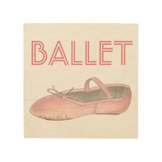 Pink Ballet Shoe Ballerina Dance Studio Decor Gift