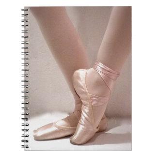 Pink Ballet Slippers Notebooks