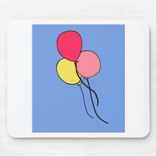 Pink  Ballons Mouse Pads