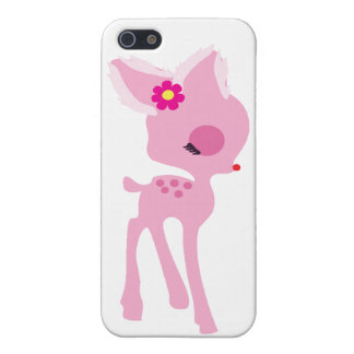 pink bambi deer iphone case case for iPhone 5/5S