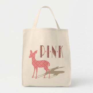 Pink Bambi Grocery Eco Bag
