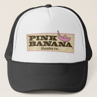 Pink Banana Trucker Hat