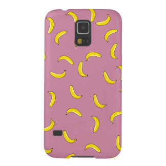 Pink Bananas Galaxy S5 Cases