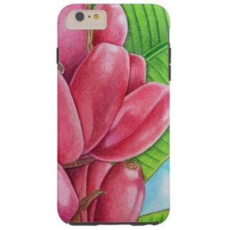 Pink Bananas Tough iPhone 6 Plus Case