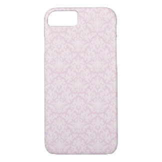 Pink baroque pattern iPhone 7 case