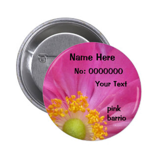 pink barrio In Pink Pinback Buttons