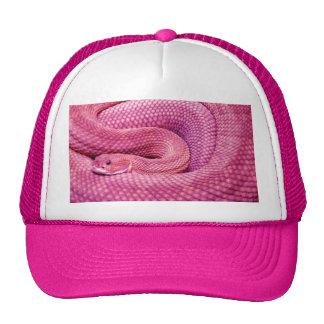 Pink Basilisk Rattlesnake Cap
