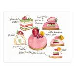 Pink Bavoirois Post Card