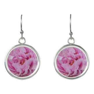 Pink Beauty Drop Earrings