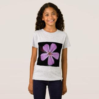 Pink beauty T-shirt for girls