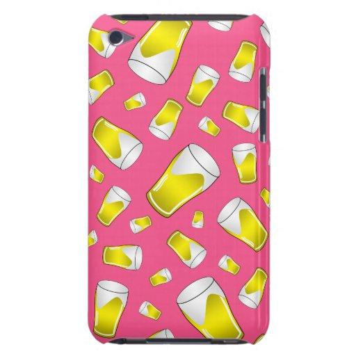 Pink beer pattern iPod Case-Mate case