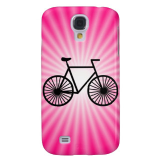 Pink Bicycle Galaxy S4 Case