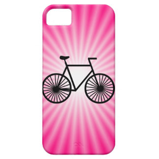 Pink Bicycle iPhone 5 Cover
