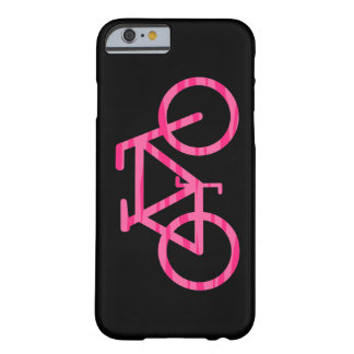 Pink Bicycle Zebra Print iPhone 6 Case