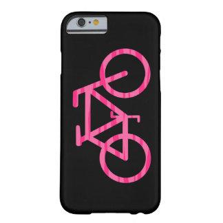 Pink Bicycle Zebra Print iPhone 6 Case