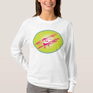 pink Biplane T-Shirt