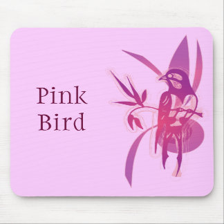 Pink Bird Mousepads