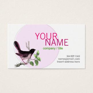 Pink Birdy Profile Card