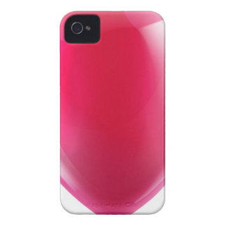Pink birthday or party balloon iPhone 4 cases