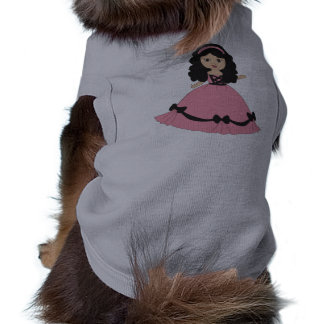 Pink Black Gown Princess 2 Pet Clothes