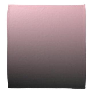 Pink Black Ombre Background Kerchiefs
