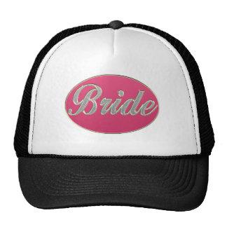 Pink Bling Bride Cap