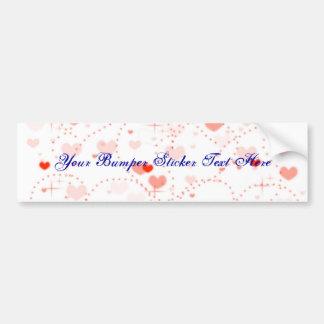 Pink Bliss (Valentine's Day) Car Bumper Sticker