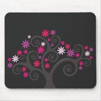 Pink Blooms Mousepad